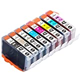 8 Pack Compatible Canon CLI-42 Ink Cartridge Use for Canon Pixma Pro-100 printer--1 Set (8 color:1 Black,1 Cyan,1 Magenta,1 Yellow,1 Grey,1 Light grey,1 photo Cyan,1 photo Mag)