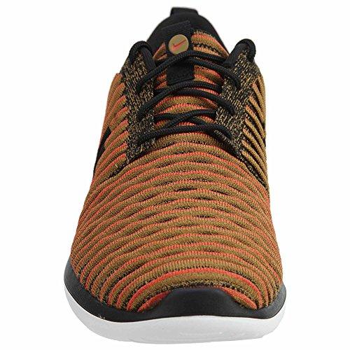 Mainapps Roshe Two nero Flyknit Arancione rA18Ax