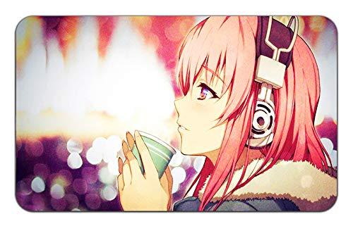 "Price comparison product image Soni-ANI Super Sonico The Animation Anime Mousepad Playmat (24"" x 14"" inches) [MP] Soni-ANI SUPER-24"