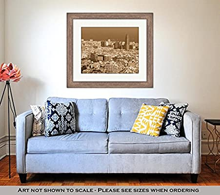 Amazon.com: Ashley Framed Prints Barcelona Attractions ...