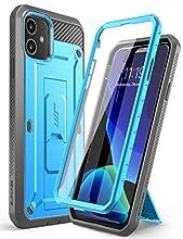 SUPCASE Unicorn Beetle Pro Series Funda diseñada para iPhone 11 de 6,1 Pulgadas (Lanzamiento de 2019), Protector de Pantalla Integrado, Carcasa Resistente de Cuerpo Completo (Azul)