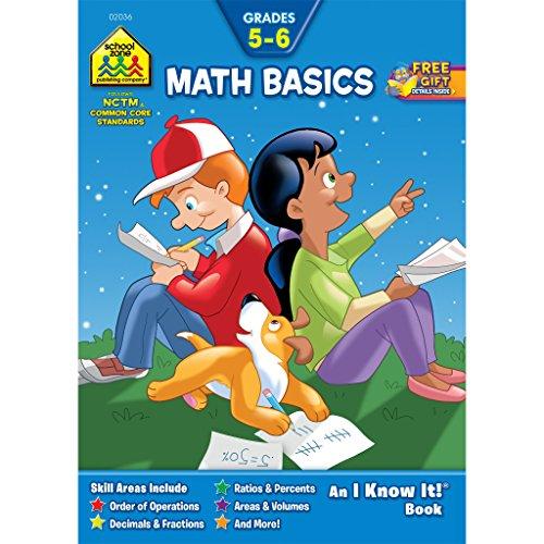 Math Basics Grades 5-6 Workbook (An