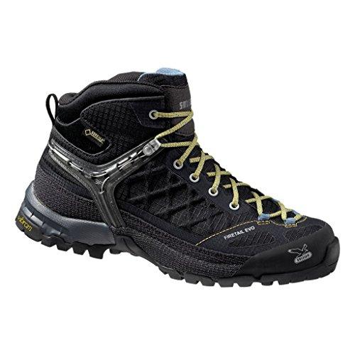 Salewa Firetail Women's Shoe Black EVO Mid GTX Gneiss AUFqA
