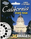 ViewMaster 3Reel Set - California State Tour - 21 3D Images