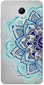 Coque Wiko Freddy Mandala 2 Bleu Turquoise Blanc Fleur Aztec ...