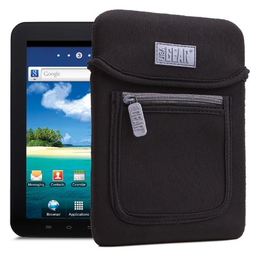 USA Gear 7 Inch Tablet Carrying Case Sleeve Cover with Extra Padded Neoprene
