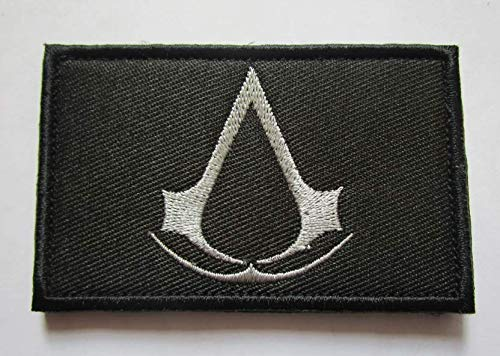 Assassin's Creed Military Patch Fabric Embroidered Badges Patch Tactical Stickers for Clothes with Hook & Loop -