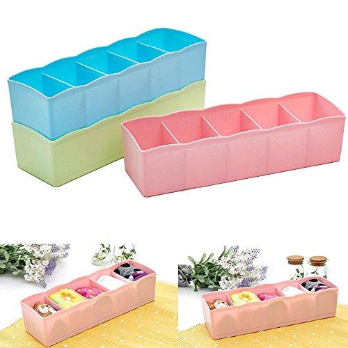 1 unidad de almacenamiento de sobremesa calcetines brasier organizador de oficina papelería almacenamiento cubeta cesta...