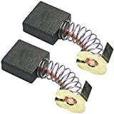 Ridgid R4510 / R45101 Table Saw (2 Pack) Replacement Carbon Brush # 089037004271-2pk by Ridgid