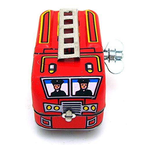 yanbirdfx - Coche de Bomberos Retro Locomotora de Juguete para niños - Locomotora, Carro de Bomberos, Fire Truck