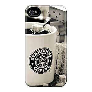 New Starbucks Tpu Case Cover, Anti-scratch Rewens Phone Case For Iphone 4/4s