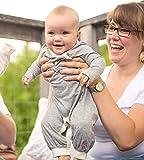 Burt's Bees Baby Baby Girl's Romper Jumpsuit, Long
