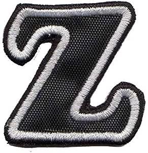 Patch Bordado - Letras Alfabeto Letra Z DV80539-419 Fecho