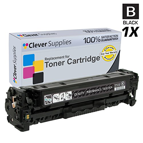 Clever Supplies© Compatible Toner Cartridges Black for HP PRO 400 COLOR M451DN (CE410X), HP 305A, COLOR LASERJET M375 MFP, M375NW MFP, M451, M451DN, M451DW, M451NW, M475, M475DN, M475DW, Black