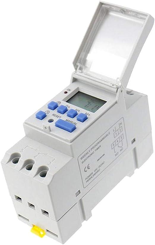KESOTO AC 220 V programables Escaleras Tiempo de luz Interruptor ...