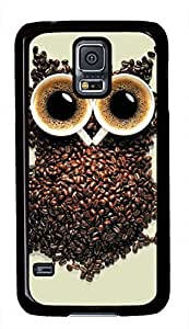 Owl Coffe Theme Samsung Galaxy S5 I9600 Case by ruishername
