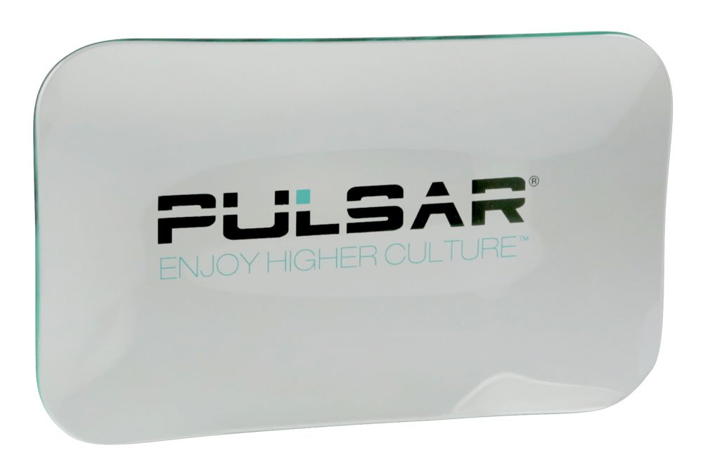 Pulsar Glass Rolling Tray (Large 5.75'' x 9.75'')