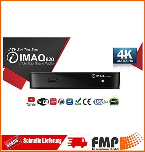 IMAQ 820 IPTV HEVC H265 IPTV Multimedia Set-Top-Box Xtream Stalker ...
