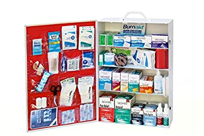 Medique MP734ANSI 4-Shelf ANSI-Compliant First Aid Kit, Standard, White by Magid Glove & Safety