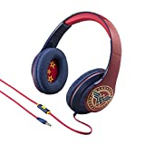 Wonder Woman Over the Ear Headphones with In Line Microphone
