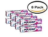 SUPER POLIGRIP Denture Adhesive Cream Original 2.40 oz (Pack of 8)