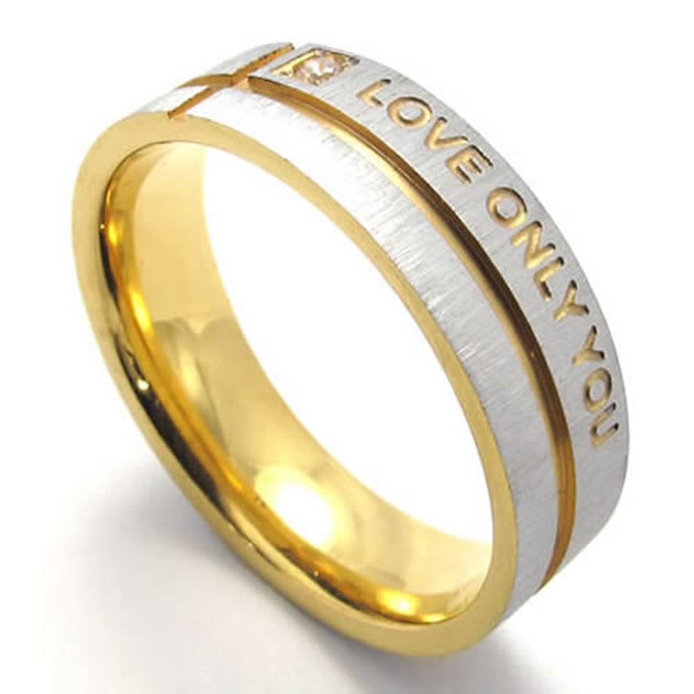 New Mens Wedding Ring Gold