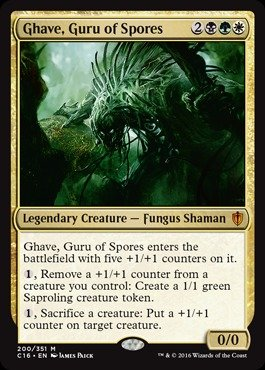 Magic: the Gathering - Ghave, Guru of Spores - Commander 2016