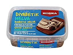 Koska Diabetic Halva with Pistachio 350 Gr / 12.35 Oz (No Sugar Added)