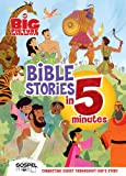 The Big Picture Interactive Bible Stories in 5 Minutes, Padded Cover: Connecting Christ Throughout God's Story (The Gospel Project)