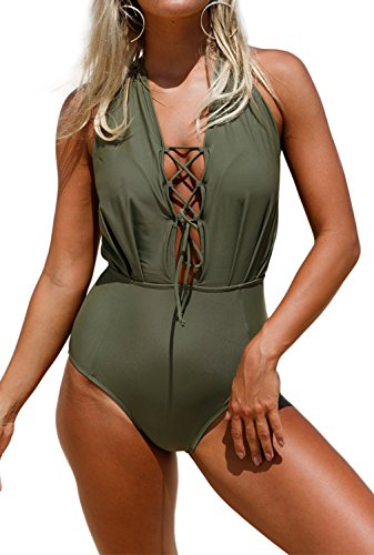 Dokotoo Swimwear Backless Monokini Swimsuit