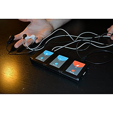 Digital USB Polygraph (Lie Detector) Demonstration Kit - Demonstration Kit