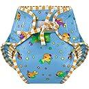 Kushies Swim Diaper, Goldfish Print, Large