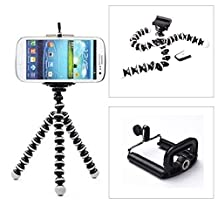 Generic Mini Flexible Tripod Bubble Octopus Stand Gorilla Pod for Iphone 6/5s/4s Samsung Note 3 S4 S5 N9000