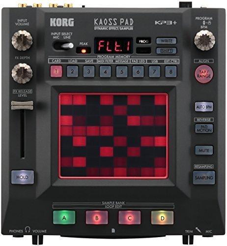 Korg KP3+ KAOSS Pad Dynamic Effects Sampler (International Version – No Warranty)
