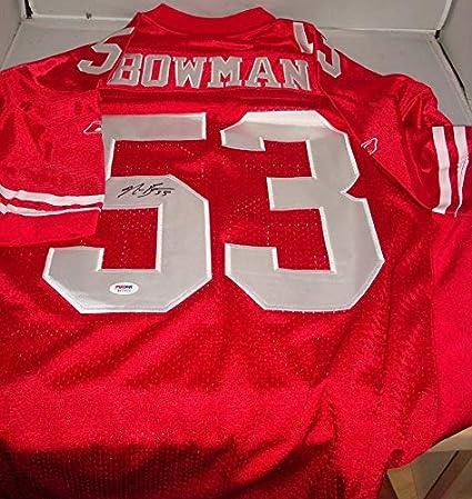 official photos e7b57 b05bc Navorro Bowman Signed San Francisco 49ers Jersey, PSA/DNA at ...