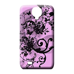 samsung galaxy s4 Proof Designed style mobile phone shells butterfly floral abstract