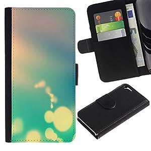 All Phone Most Case / Oferta Especial Cáscara Funda de cuero Monedero Cubierta de proteccion Caso / Wallet Case for Apple Iphone 5 / 5S // Boker Colors
