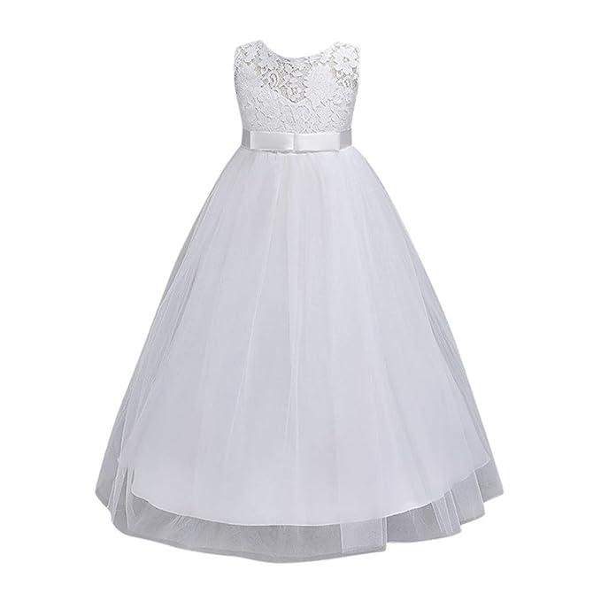 Bambini Vestito - feiXIANG®🎈 vestito da principessa i bambini si vestono  abbigliamento per bambini c9c2c445577