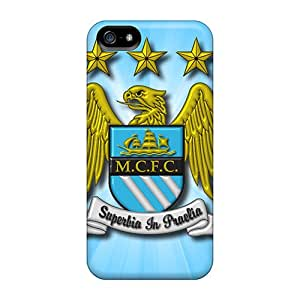 Excellent Design The Famous Team Of Manchester City Case Cover For Iphone 5/5s
