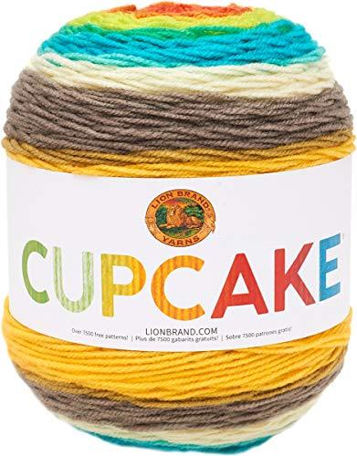 Lion Brand Yarn Cupcake Yarn, Happy Dance