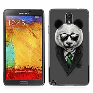 YOYOSHOP [Classy Panda & Sunglasses Illustration] Samsung Galaxy Note 3 Case