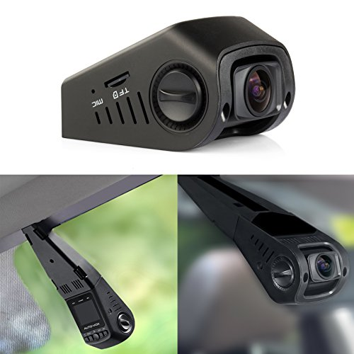 AUTO-VOX A118-C B40C Stealth Car Dashboard Camera Capacitor Edition Covert Mini Dash Cam Full 1080P HD video No Internal Battery 170¡ã Super wide angle 6G Lens with G-sensor WDR Night Vision Loop Recording