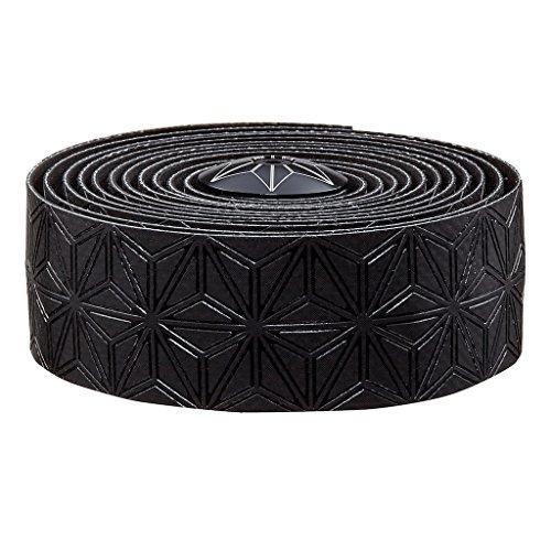 (Supacaz Super Sticky Kush Silicone Gel Handlebar Tape, Black )