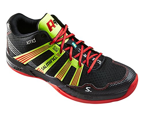 Salming Race R9 Mid 3.0 Mens Court Shoes, US Shoe Size- 10.5 US / 9.5 UK