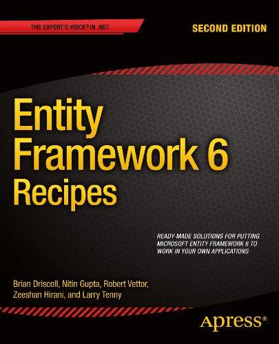 Entity Framework 6 Recipes Pdf