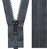 YKK Vislon Zipper, 5 Molded Plastic Separating