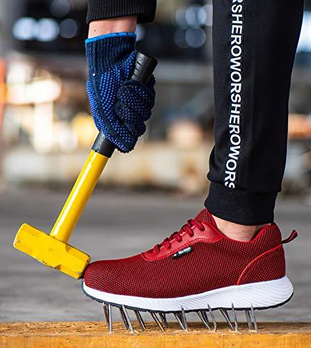 In Sportive Scarpe D Con Lavoro Antinfortunistica Blu Uomo Punta Acciaio Di S3 Da Donna Tqgold® Sicurezza Scuro 70xqUw7
