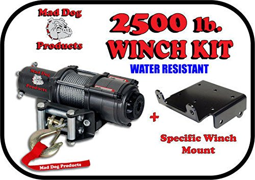 Mad Dog 2500# Winch Mount Combo Polaris 2014-2018 Sportsman 570 / 570 Touring / 570 X2