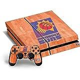 NBA Phoenix Suns PS4 Horizontal Bundle Skin - Phoenix Suns Hardwood Classics Vinyl Decal Skin For Your PS4 Horizontal Bundle