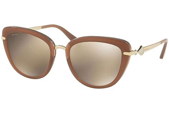 Bulgari BV8193B gafas de sol w 54 mm/marrón de la lente del ...